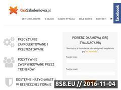 Miniaturka domeny www.graszkoleniowa.pl