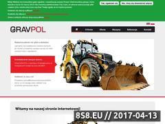 Miniaturka domeny www.gravpol.eu