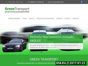 Zrzut strony Przewozy pasażerskie w kraju i za granicą - wynajem busów