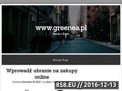 Miniaturka domeny greenea.pl