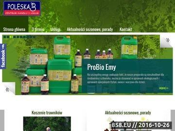 Zrzut strony Usługi ogrodnicze Warszawa