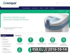Miniaturka domeny www.greenpol.com.pl