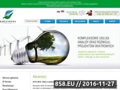Miniaturka domeny www.greenpolsystem.pl
