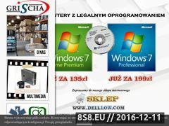 Miniaturka domeny www.grischa.pl