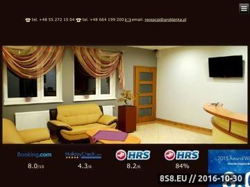 Zrzut strony Hotelik Groblanka