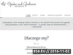 Miniaturka domeny groby-szczecin.pl