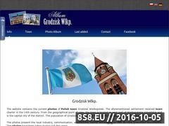 Miniaturka domeny www.grodzisk.turystyka.pl