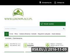 Miniaturka domeny growplace.pl