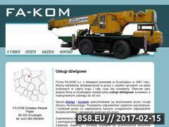 Miniaturka domeny www.grudziadzdzwigi.pl