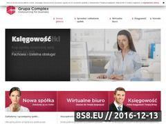 Miniaturka domeny www.grupacomplex.pl