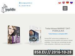 Miniaturka domeny www.grupafolflex.pl
