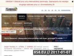 Thumbnail of GrupaGestum Tłumaczenia - Rzeszów Website