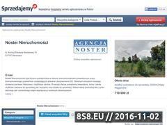 Miniaturka domeny grupanoster.sprzedajemy.pl