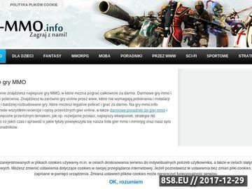 Zrzut strony Lista gier MMO