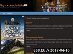 Miniaturka domeny www.gry-na-przegladarke.pl