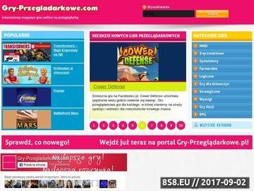 Zrzut strony Gry przeglądarkowe