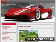 Miniaturka domeny www.gry-samochodowe.com