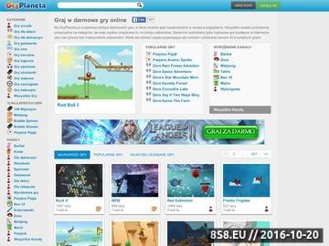 Zrzut strony Darmowe gry - GryPlaneta.pl