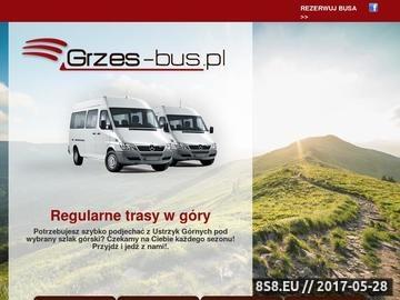Zrzut strony Bus - przewóz osób na Ukrainę - Grześ