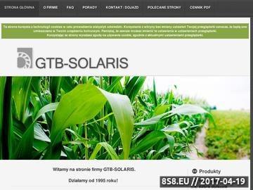 Zrzut strony Baterie słoneczne, wiatraki, reagulatory ładowania - GTB-Solaris