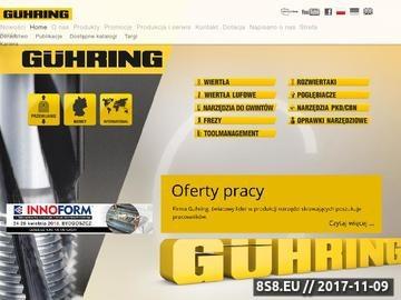 Zrzut strony Systemy modułowe Guhring