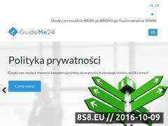 Miniaturka domeny guideme24.pl