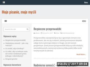 Zrzut strony Grafik freelancer - tworzenie stron www, projektów graficznych, katalogów