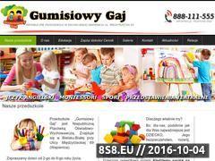 Miniaturka domeny www.gumisiowygaj.pl