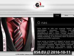 Miniaturka domeny www.guniakrawaty.pl