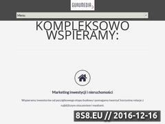 Miniaturka domeny www.gurumedia.pl