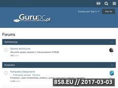 Miniaturka domeny www.gurupc.pl
