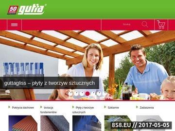 Zrzut strony Gutta Polska folie dachowe