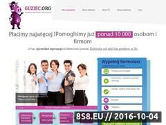 Miniaturka domeny guziec.org