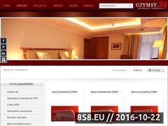Miniaturka domeny www.gzymsy24.pl