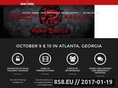 Thumbnail of Security events Website