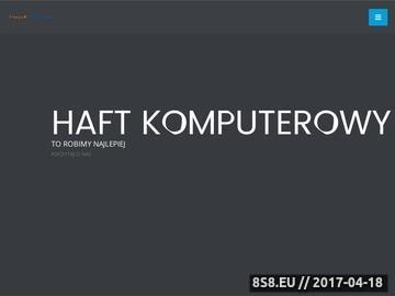Zrzut strony Haft komputerowy