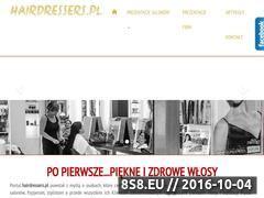 Miniaturka domeny hairdressers.pl
