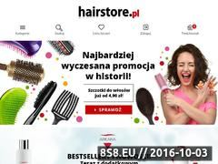 Miniaturka domeny hairstore.pl