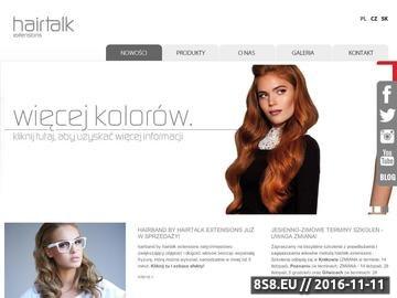 Zrzut strony Przedłużanie i zagęszczanie włosów - profesjonalne produkty