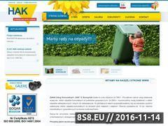 Miniaturka domeny www.hak.net.pl