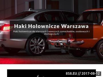 Zrzut strony Haki holownicze Warszawa