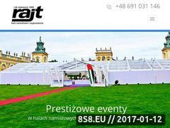 Miniaturka domeny hale-namiotowe.rajt.pl