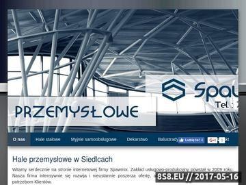 Zrzut strony Spawmix profesjonalne budowy