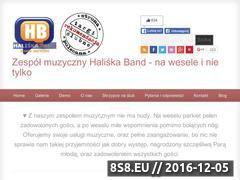 Miniaturka domeny haliskaband.republika.pl