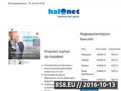 Miniaturka domeny www.halonet.pl