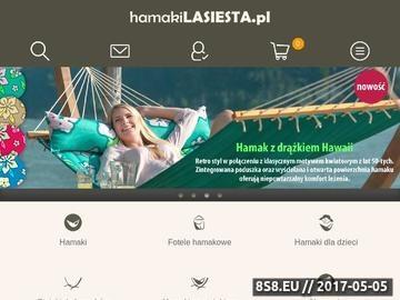 Zrzut strony Hamaki La Siesta - markowe hamaki z Ameryki Południowej