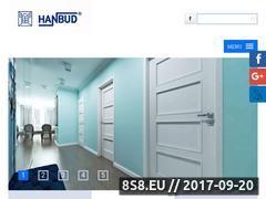 Miniaturka domeny www.hanbud.com.pl