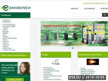 Zrzut strony Sprzedaż m.in. zaworów regulacyjnych i pomp