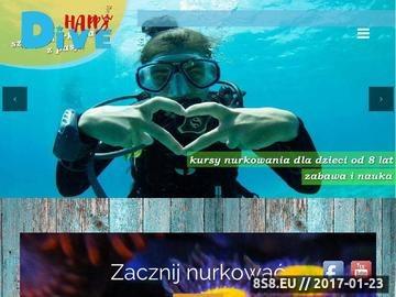 Zrzut strony Kursy nurkowania w Gdańsku, Gdyni i Sopocie