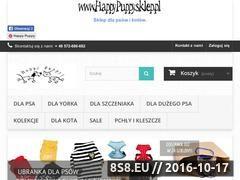 Miniaturka domeny happypuppy.sklep.pl